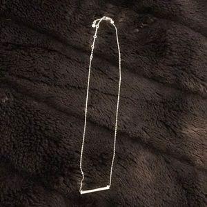 Henri Bendel bar necklace